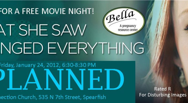 """Unplanned"" free movie night"