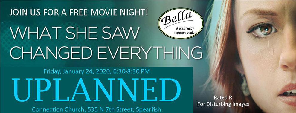 """Unplanned"" free movie night"